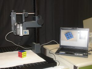 Setup for the augmented rubiks cube solver