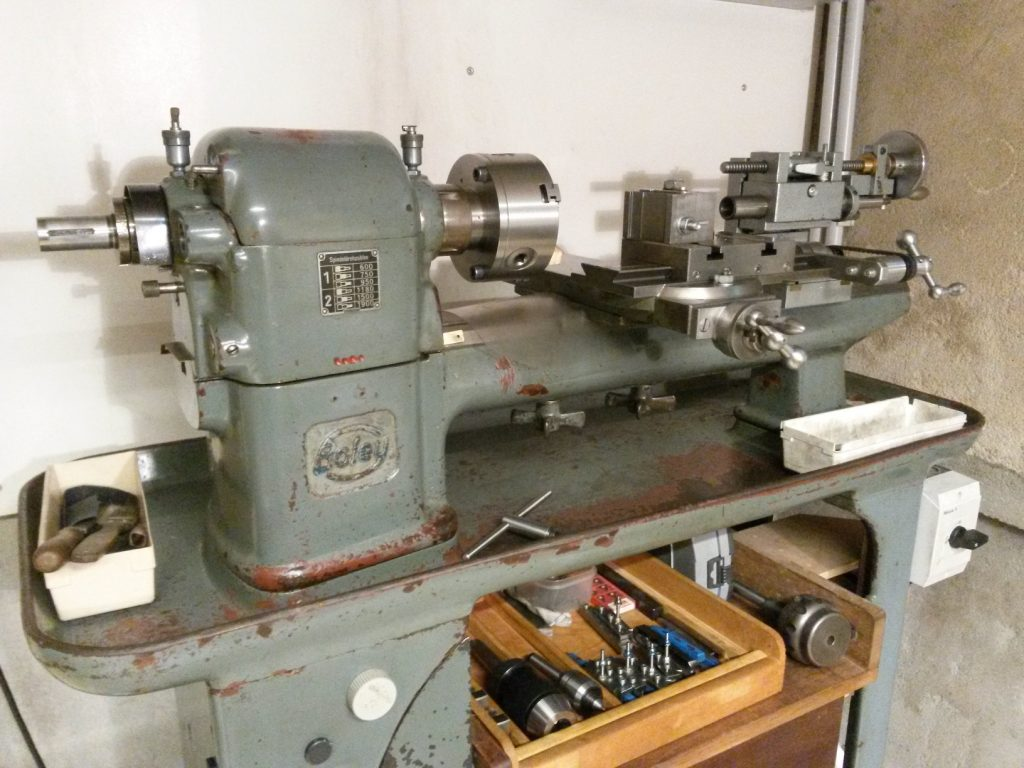 Boley mechanics lathe